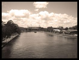 Yarra + MCG by paolo91
