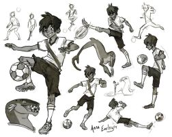FIFA's got me in a soccer mood by Turtle-Arts
