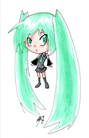 Hatsune Miku- Markers by Lewaluvr997