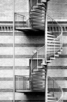 bricks and stairs by herbstkind