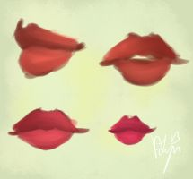 Lotta Lips by AdenChan
