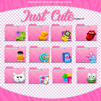 Just Cute Folders by alenet21tutos