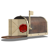 Steampunk Inbox Email Icon V2 by pendragon1966