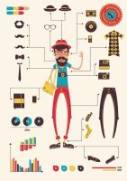 Hipster infographics by DarkStaLkeRR