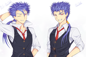 Fate/Cu Chulainn by BlackWatchar