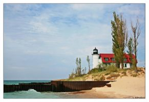 Point Betsie Light by Limaria