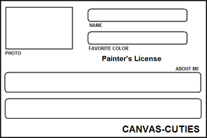 PNG Painter'sLicenseTemplate 2 by Canvas-Cutie