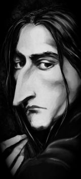 Snape in shades of grey by joeyv7