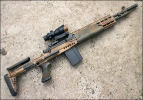 Desert MK14 EBR Mod-0 by Drake-UK