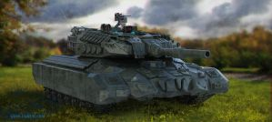 Avalanche main battle tank by geors