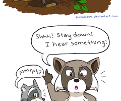 Another Failed Escapade (part 1) by KatRaccoon