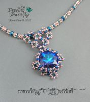 Romantique Twilight Pendant by beadg1rl