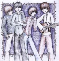 The Beatles by xlizx