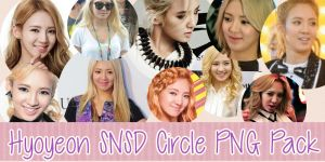 Hyoyeon SNSD Circle PNG Pack by AffxtionComunity