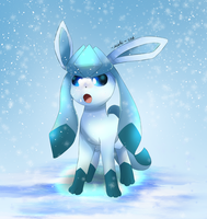 Glaceon by NihiTheBrony