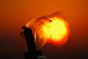 Burning Sun by alahay