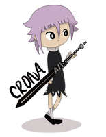 Crona and Ragnarok by Gochure