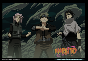 Naruto 632 - Team 7 by iFeerGirl