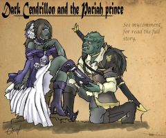 Skyrim: Dark Cendrillon and the Pariah prince by LaDarkA117