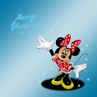 Minnie's Merry Christmas by Sarky-Sparky