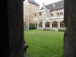 Lacock Abbey 091 by VIRGOLINEDANCER1