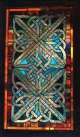 celtic knotwork  panel by cymrudragon