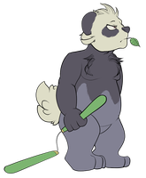 now with bamboo nunchuks. by Tazli