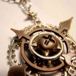Concentric Circles and Gears by SteamSociety