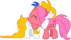 Frolicing Bloom - Foal Sized Pony Hug by Creshosk