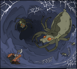 Giant Cave Spider by kruggsmash