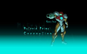 Samus Corrupted by AIBryce