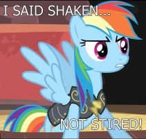 Rainbow Dash - Shaken by ctucks