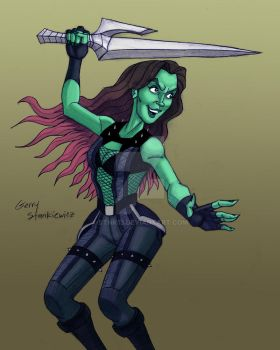 Gamora by Stnk13