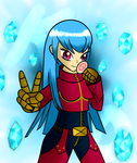King of Fighters: Kula Diamond by SnowmanEX711
