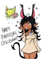 hapPY BDAY EPIC by TentacleF00