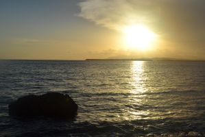 Caribbean Sunset by limarieinred