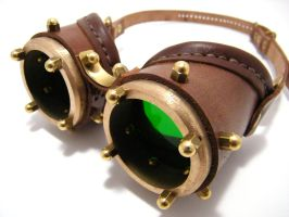 Steampunk Goggles 10-4 by AmbassadorMann