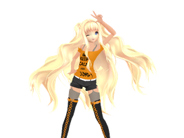[MMD] Keep Calm SeeU by ITSALLABOUTMYEYE