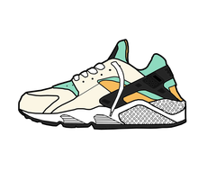 Nike Air Huarache OG by MattisamazingPS