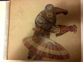 Captain America thingy by lucious666