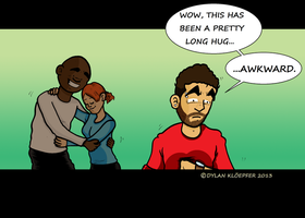 markham tales mondays: 'another awkward hug.' by Dylanio21