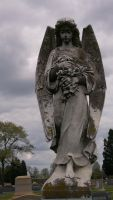 Angel of Sorrow by HauntingVisionsStock