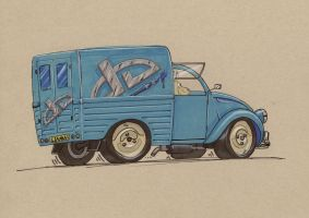 Deviant Delivery Truck CV2 by Jepray