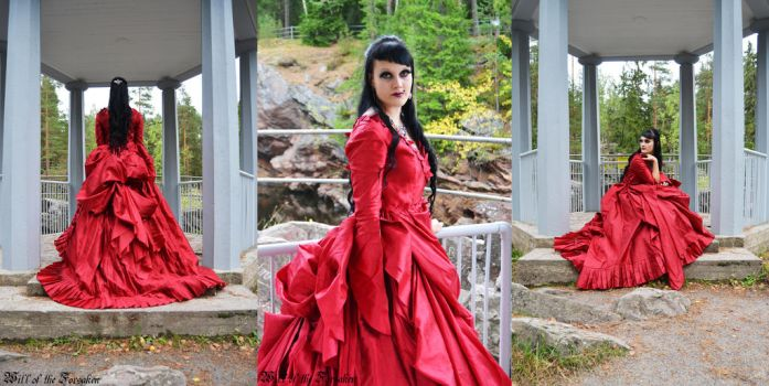 Dracula's Bride Dress by Ventovir