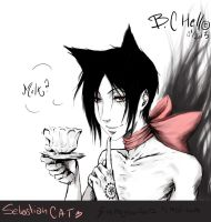 Sebastian cat 2#  // Who dirty boy. by bc-hell