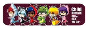 Miracles of Generation Chibi Bookmark by Aniteen9