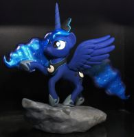 Princess Luna custom sculpture by MadPonyScientist