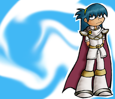 Marth in white by Chloemew4ever