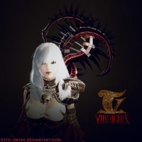Evie from Vindictus by smyro