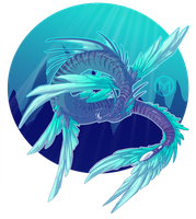 Water Dragon by Mythka